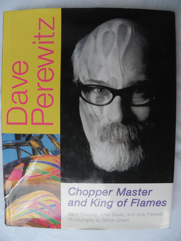 Knjiga: Chopper Master and King of Flames(Knjiga o coper motorima)