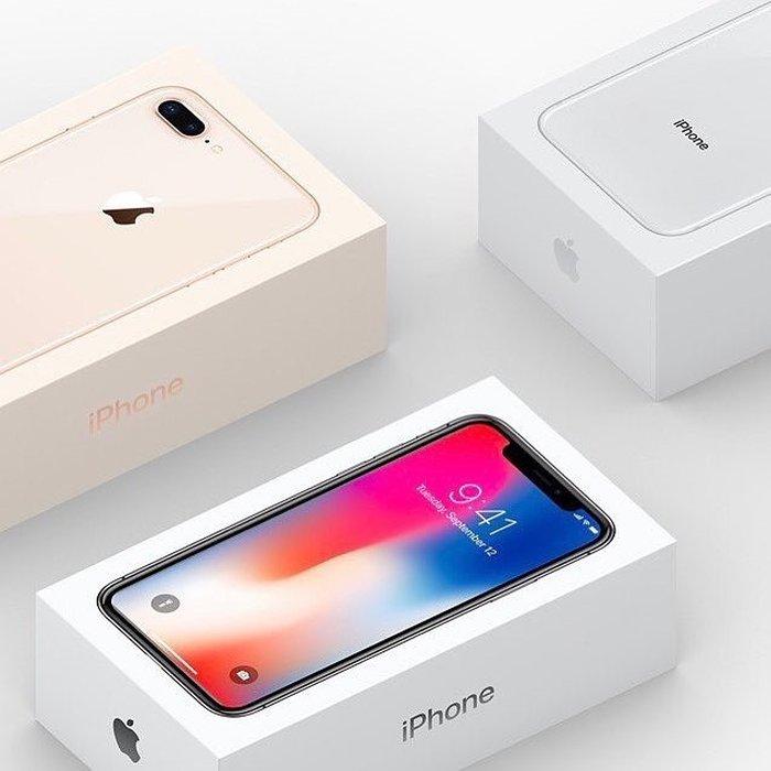 Iphone 8 ve 8plus hazirda elde var 64gb yaddaw!. Photo 0