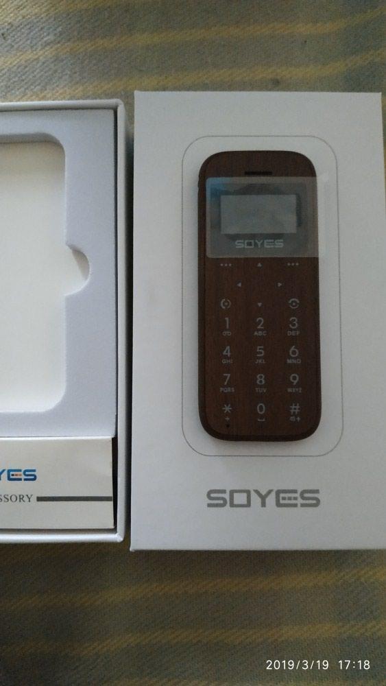 Geyydiyatli mini barmag boyda telefon satılır. Photo 0
