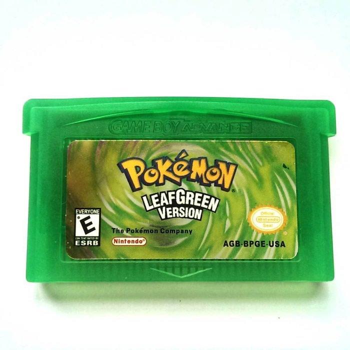 Pokemon LeafGreen - Λειτουργεί τέλεια και κάνει Save Κανονικά. repro. Photo 1