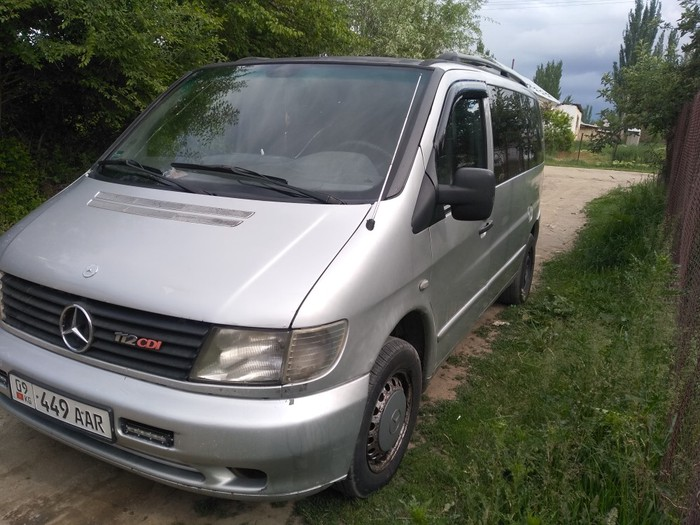 Mercedes-Benz Vito 2003. Photo 0
