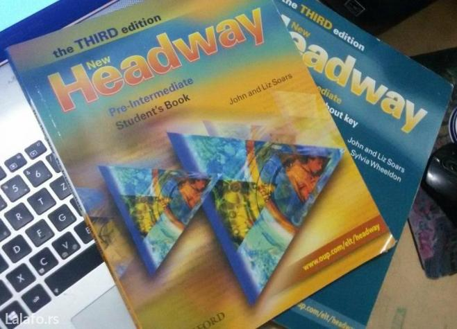 New headway, the third edition,pre-intermediate students book i workbo - Novi Sad