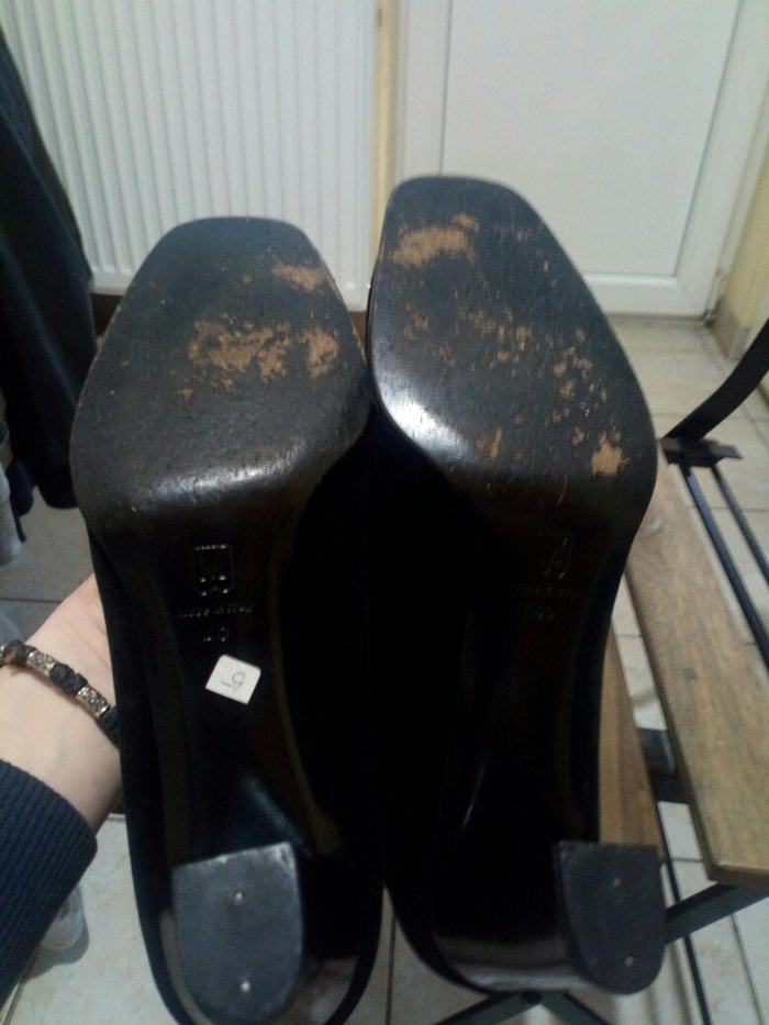 Cipele Bruno Magli br 40, ocuvane. Stikla 7cm.. Photo 3