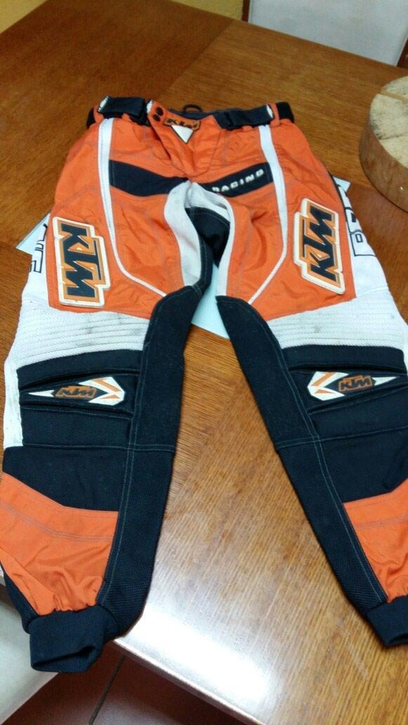 KTM RACING pantalone za motor 32 neoštećene nošene. Photo 0