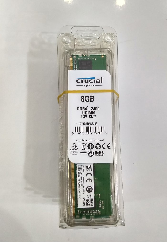 """Bakı şəhərində Operativ yaddaş """"Crucial"""" DDR4 8 gb"""""""