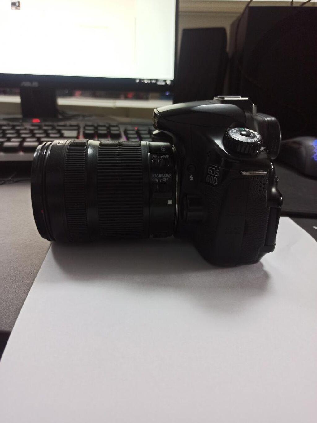 Canon 60D в отличном состоянии С объективом 18-135