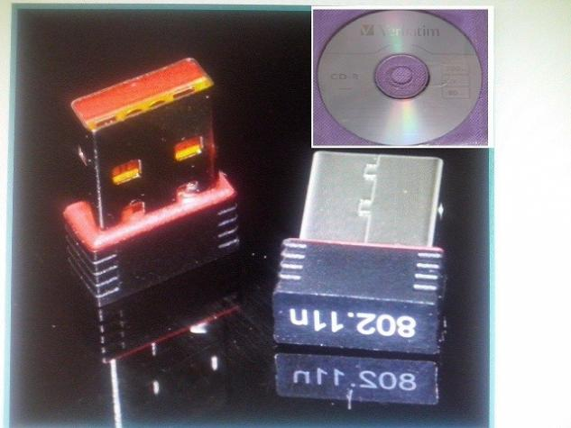 Mini Wifi USB Adapter-Kartica 2dBi NOVO