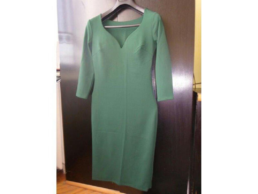 Smaragdno zelena haljina, nova, samo probana