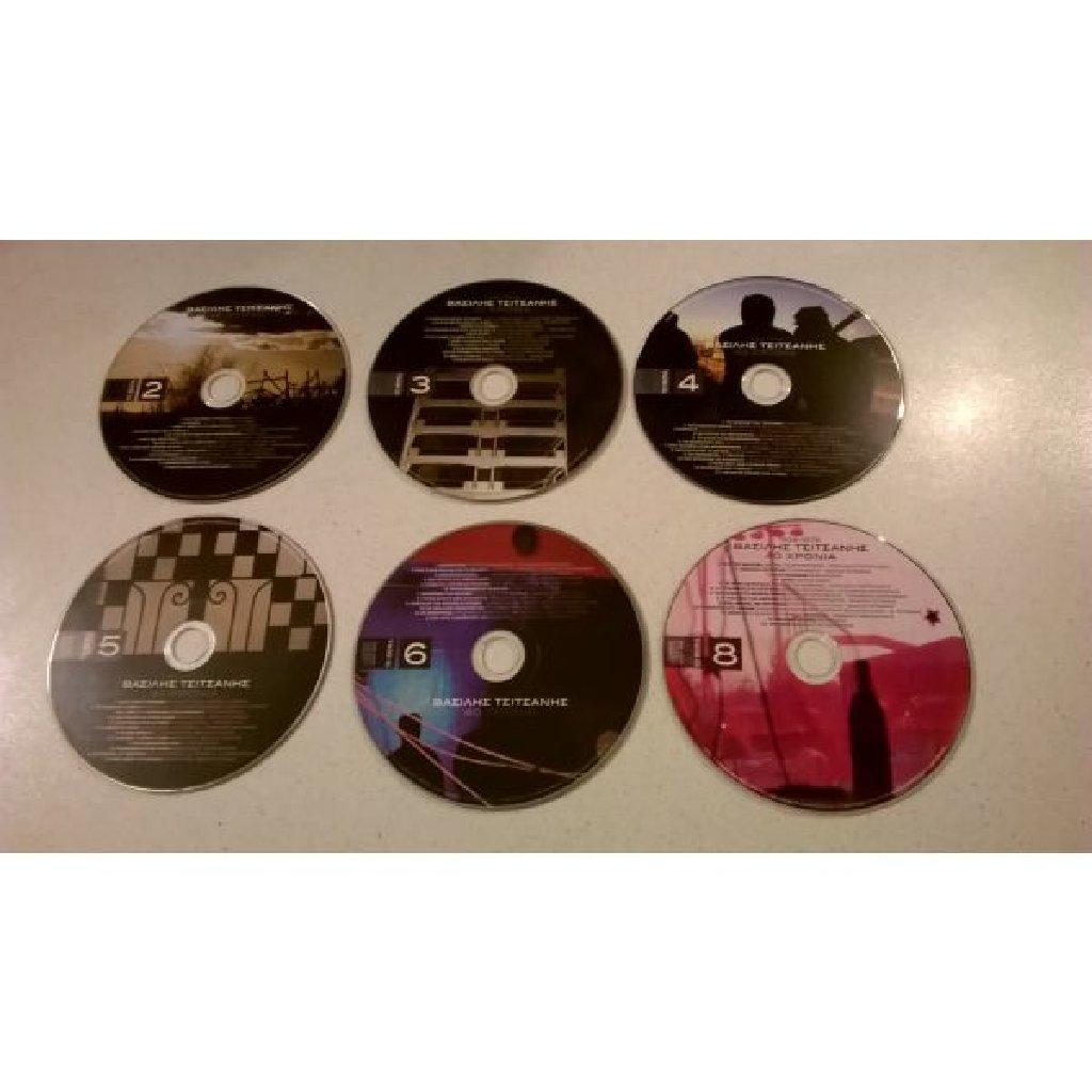 6 CDs Βασίλης Τσιτσάνης, 40 χρόνια   Σε άριστη κατάσταση
