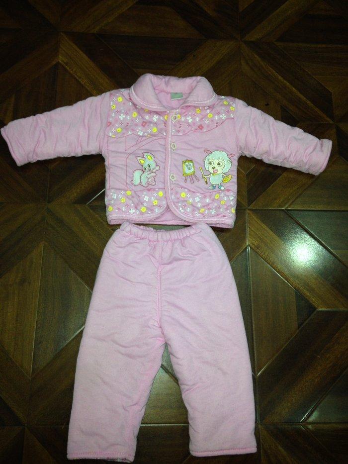 Продажа Продаю теплый зимний костюм на девочку 4-6-9-10месяцев за ... 8cc9a78545f