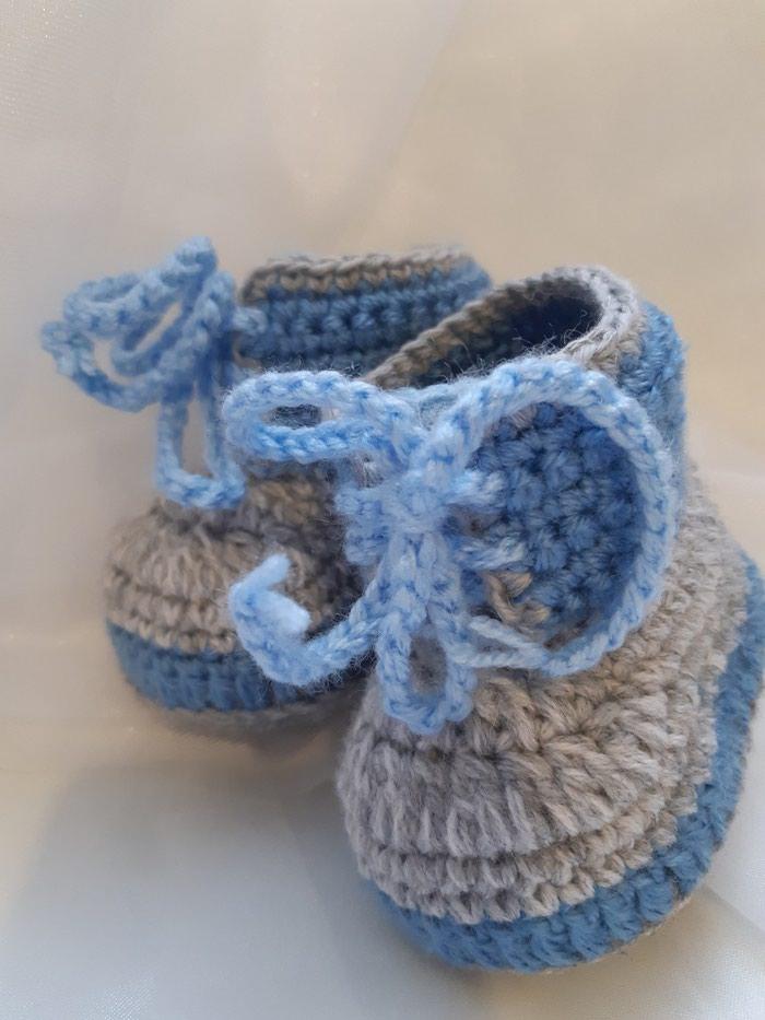 Пинетки-ботиночки для мальчика. Photo 1