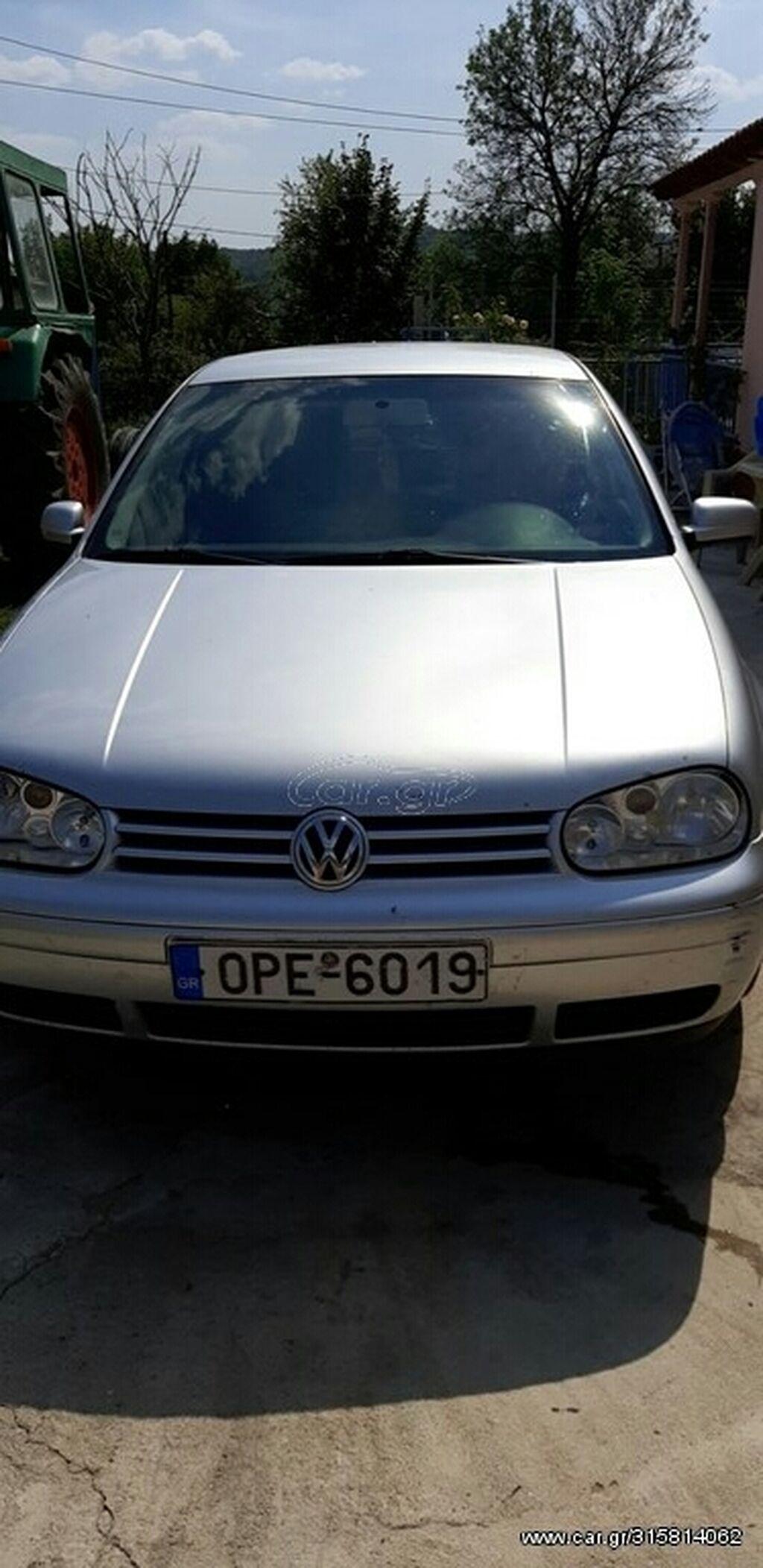 Volkswagen Golf 1.4 l. 2003 | 316175 km | η αγγελία δημοσιεύτηκε 15 Σεπτέμβριος 2021 13:33:06 | VOLKSWAGEN: Volkswagen Golf 1.4 l. 2003 | 316175 km
