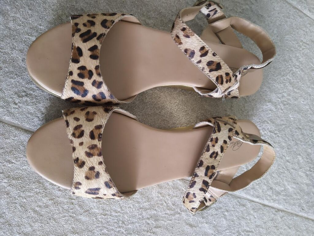 Animal Print 41 shoes, Brand New