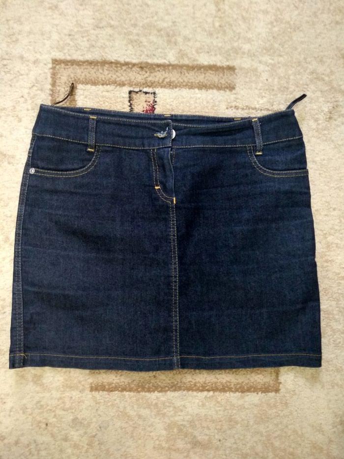Джинсовая юбка, Турция, размер евро 40, советский 44-46, идеальное состояние