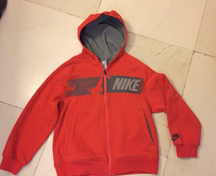 Nike hoodie , βαμβσκερό . Νο 8-10 χρονών . Photo 1