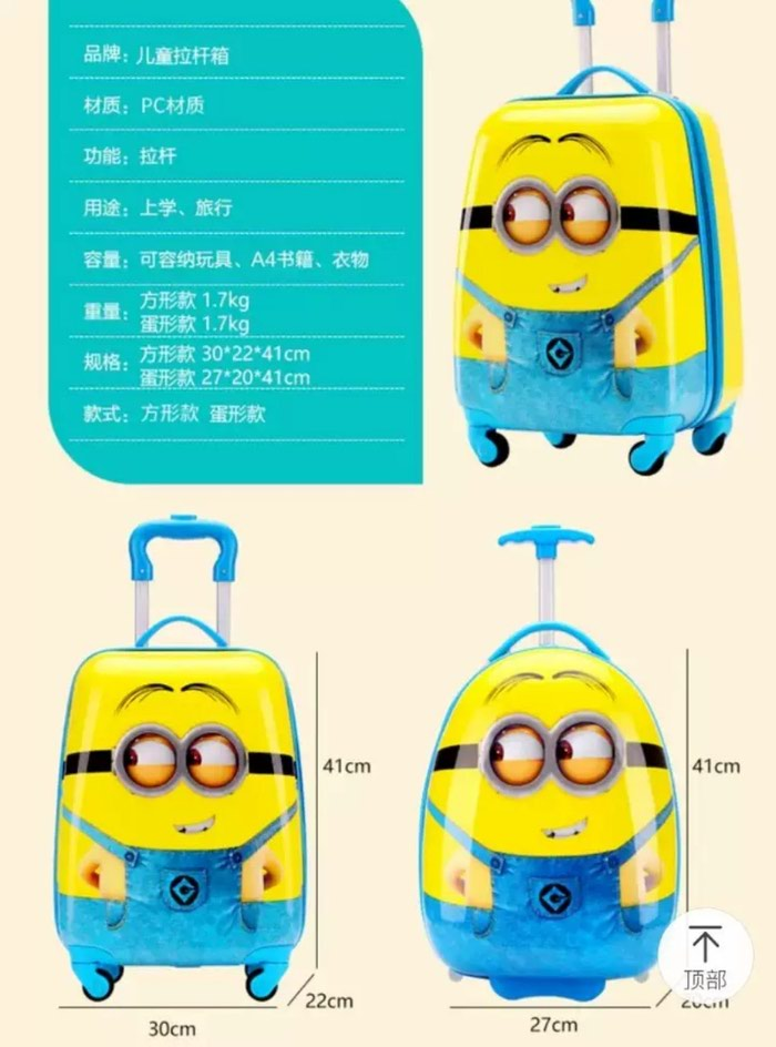 Детские дорожные чемоданчик в наличии с доставкой. Photo 3