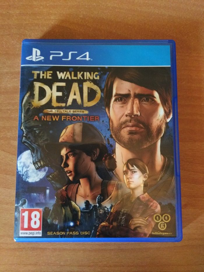 The walking dead - PS4. Photo 0