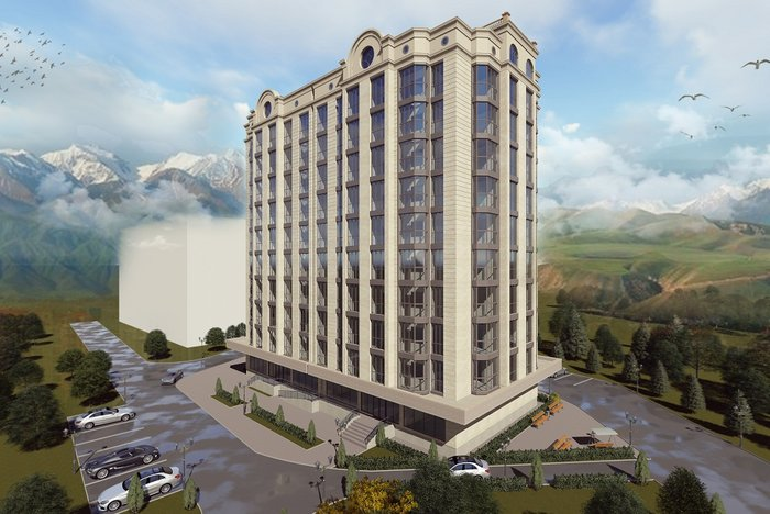 12 микрорайон богат развитой в Бишкек