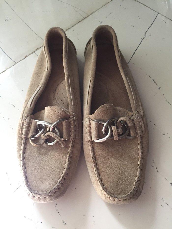 Καστόρινα σουεντ παπουτσια Keds με μεταλική λεπτομερια και λαστηχενια  σε Υπόλοιπο Αττικής