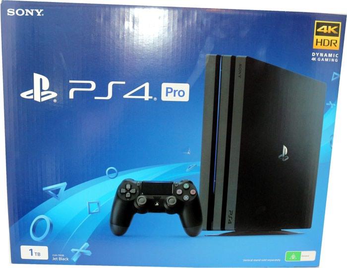 PLAYSTATION PS4 PRO 1TB CONSOLE 4K Новая, запечатанная в Кант