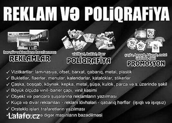 Рекламные и полиграфичесские дела... Печать на виниле,банере. in Bakı