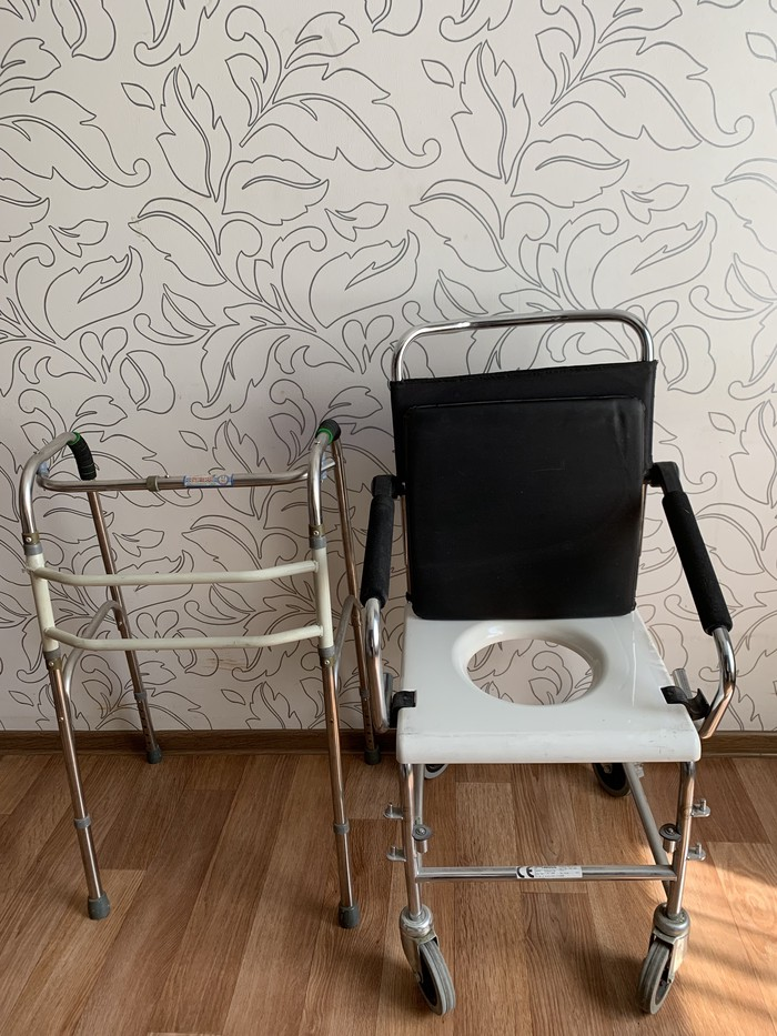 Коляска -туалет и ходунок. ...Для пожилых людей привезли из германии... Photo 1