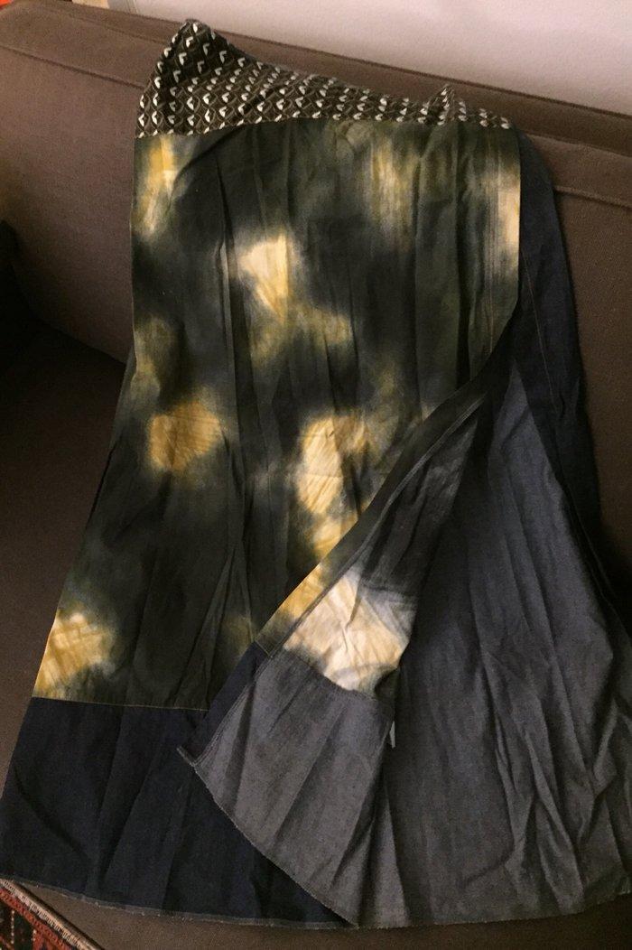 Μακρύα boho φούστα με μεγάλο σκίσιμο μπροστά .Gusto Barcelona Με λεπρό σε Υπόλοιπο Αττικής