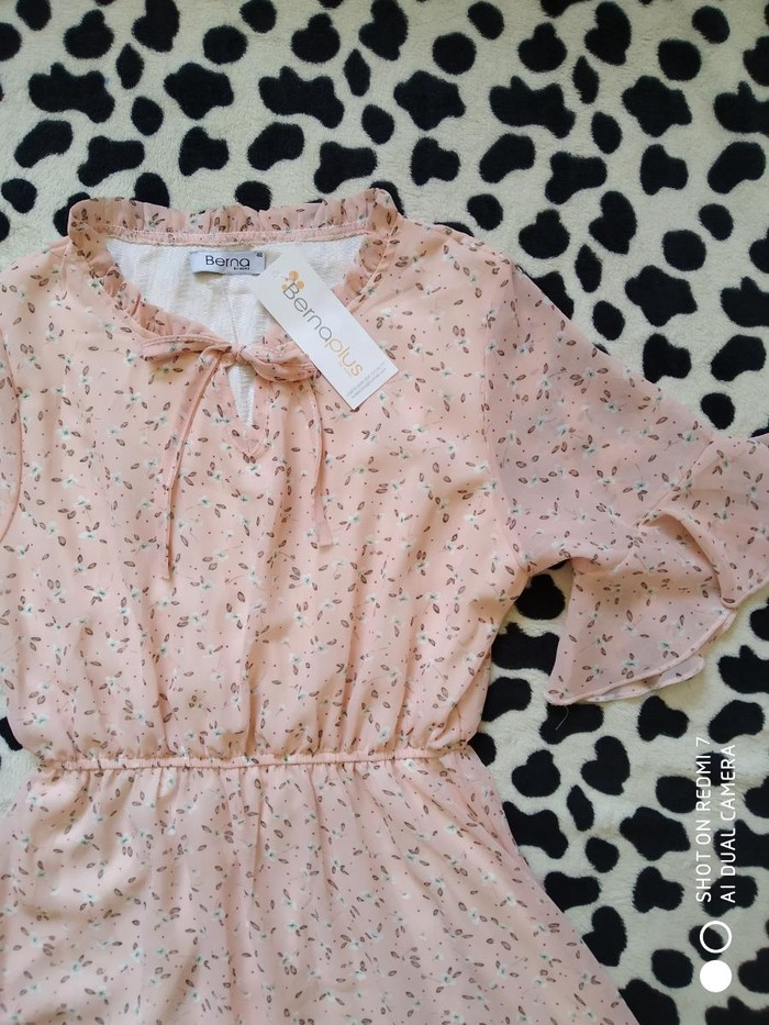 Новое шифоновое платье, 42 размер.. Photo 2