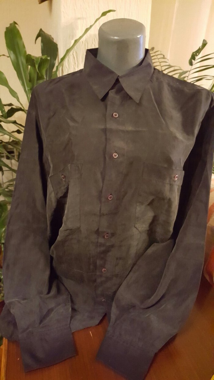 Kosulja crna kosulja  materijal:svila