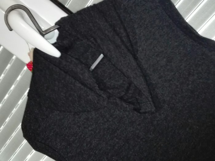 Μπλουζοφορεμα χρώμα μαύρο,νούμερο small. Photo 0