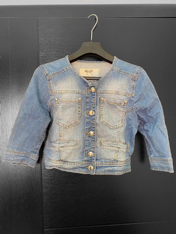 Kratka ženska teksas jakna