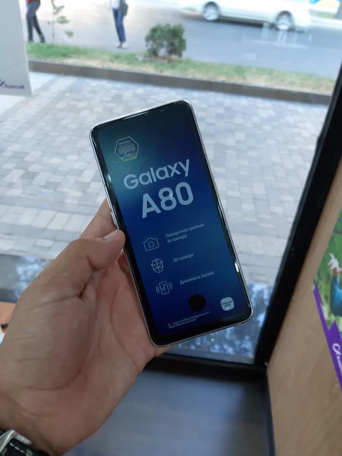 Yeni Samsung A80 128 GB boz. Photo 1