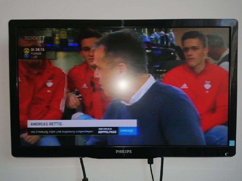 Philips monitor tv 20 inča, monitor sa dodatnim tjunerom za gledanje tv uz njega ide gratisss tjuner