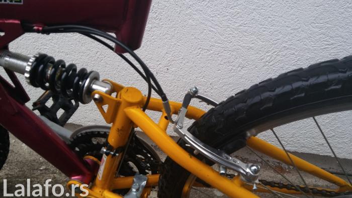 Bicikl generalno sređen. Zamenjeno: obe ručice tel.  menjača , menjač  - Beograd