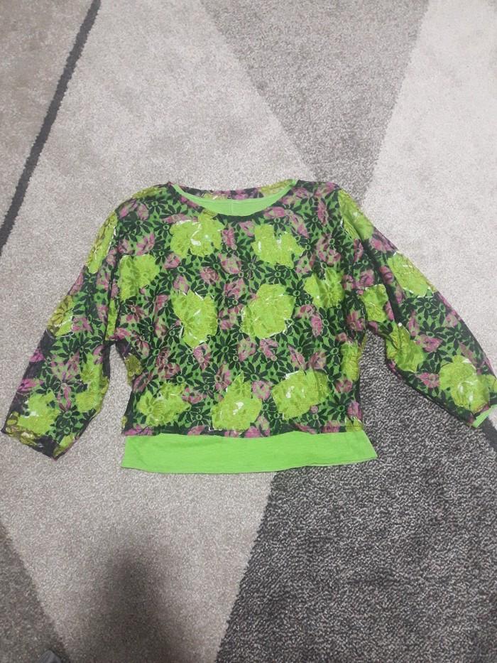 Zelena bluzica je kao nova,velicina S