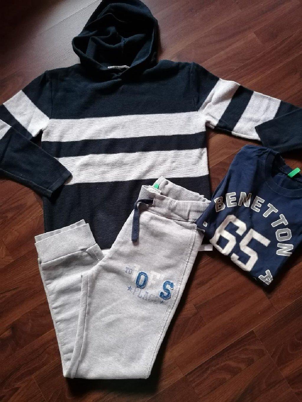 Komplet očuvane garderobe za dečake, veličina 11-12