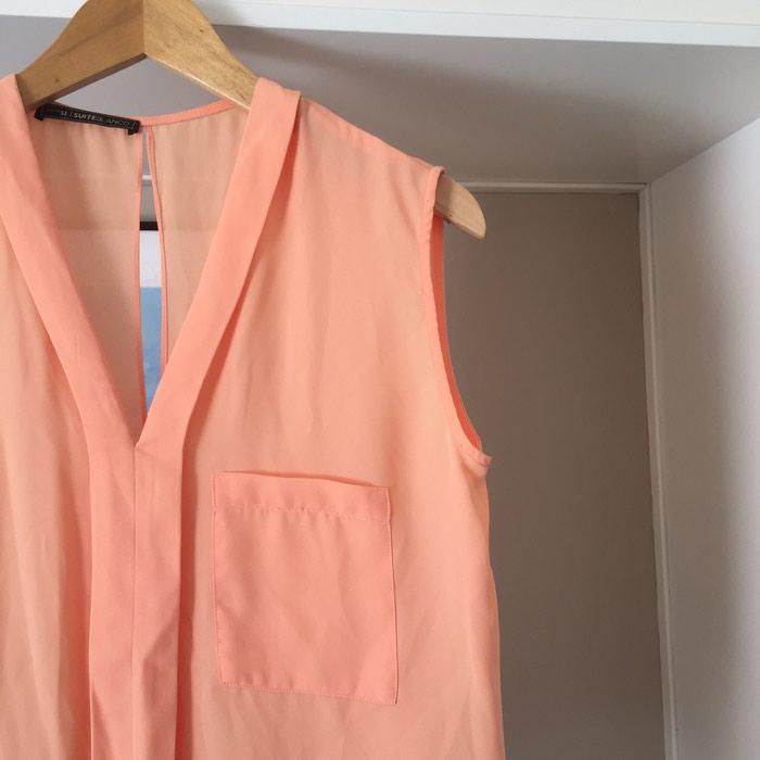 Suite Blanco αμάνικη πουκαμίσα με λαιμόκοψη. Photo 3