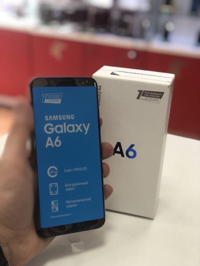 Yeni Samsung Galaxy A6 32 GB qara. Photo 1