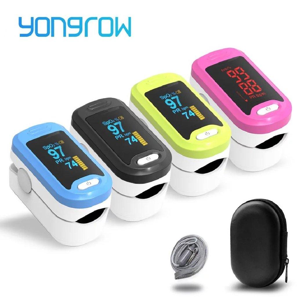 Yongrow медицинский Пульсоксиметр для пальцев
