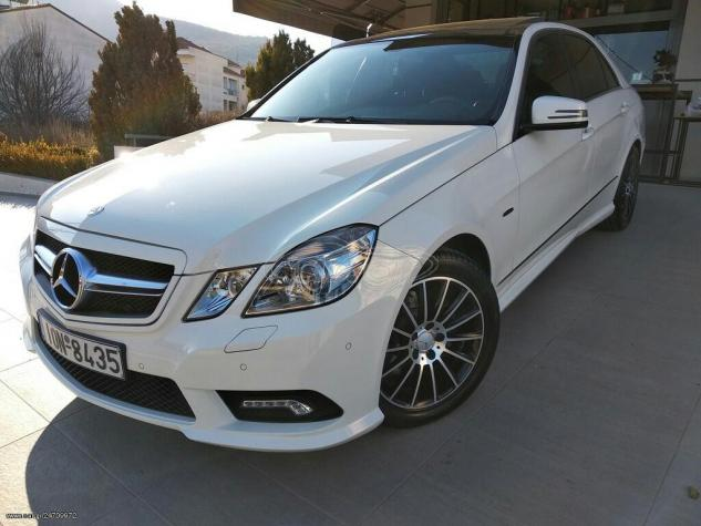 Mercedes-Benz E 250 2009. Photo 7