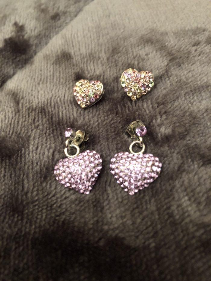 2 ζευγαρια σκουλαρικια με καρδιες !!! Σουπερ τιμη !!! Προλαβε τωρα . Photo 4