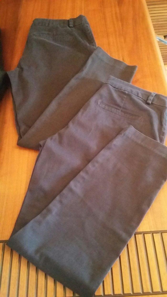 Женские брюки. Синии размер S, Черные размер М. Цена  2 шт  -5 man. Photo 0