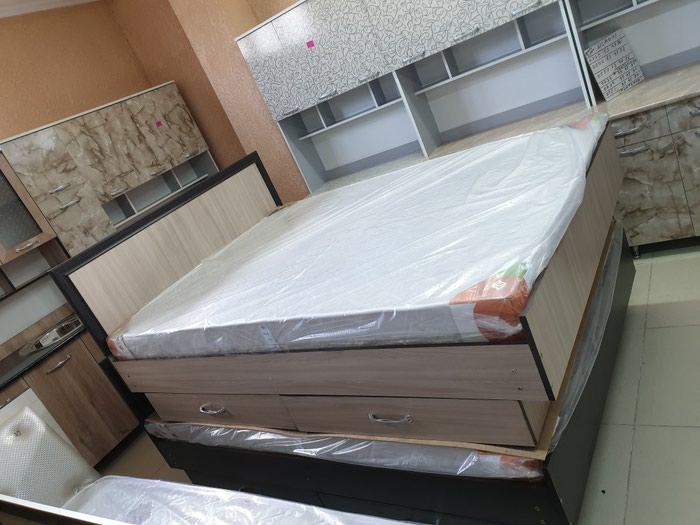 Новый кровать 2х местный качества гарантии звоните.. цена 9000с в Бишкек