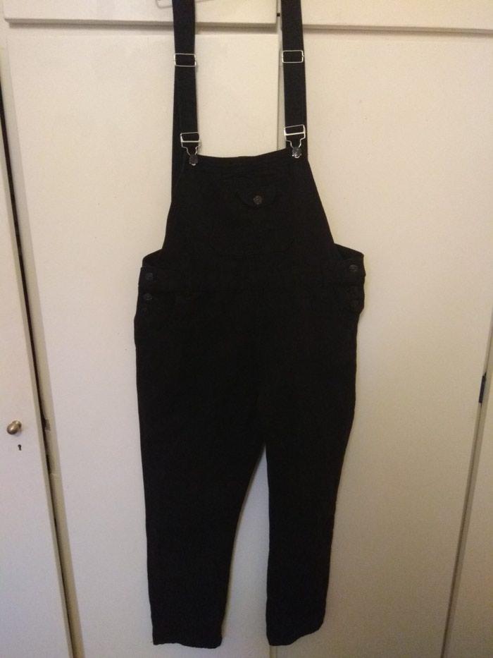 Μαύρη σαλοπετα παντελόνι, μεγεθος xl. Photo 0
