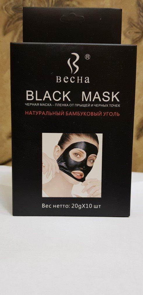 """Черная маска """"оригинал"""" 1шт 10с пачка 70с! в Мирзо Ризо"""