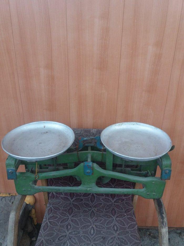 Весы советские 20кг.вместе с гирями.Точный вес.В отличном состоянии. в Бишкек