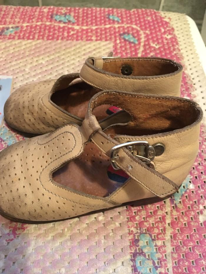 Dečje Ciciban sandalice bež boje, br.22, nošene