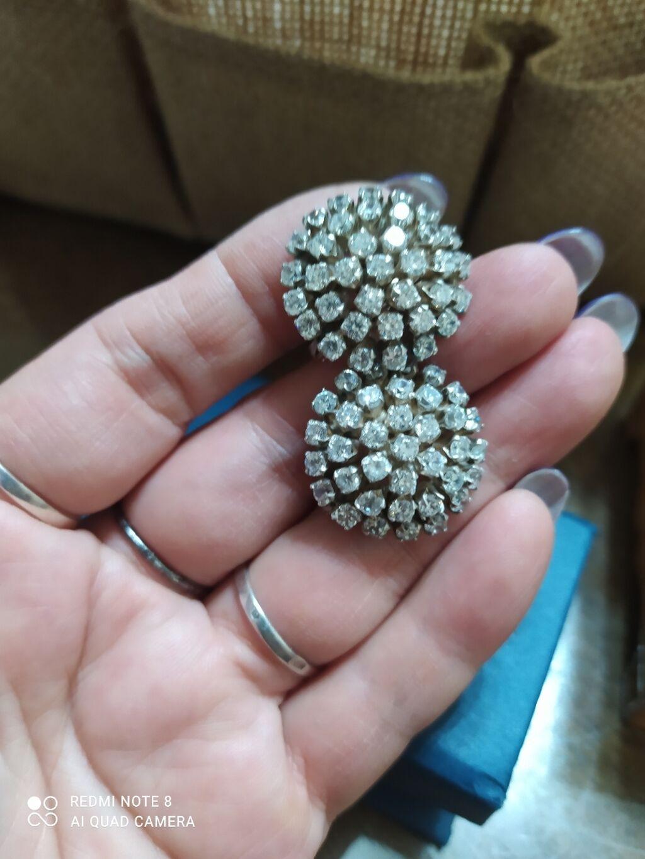 Изумительные, шикарные,богатые и невероятно красивые серебряные серьги по цене: 2800 KGS: Изумительные, шикарные,богатые и невероятно красивые серебряные серьги