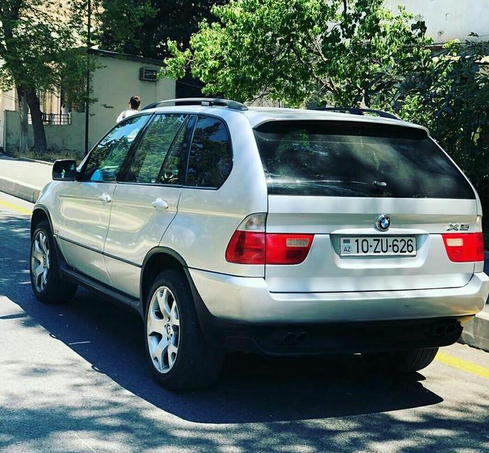 BMW X5 4.4 л. 2001 | 293000 км