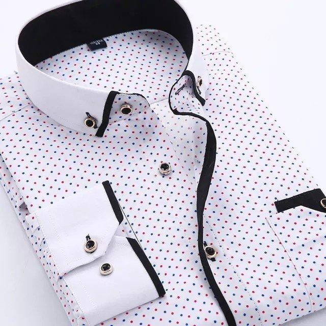 Casual αντρικό πουκάμισο. Photo 1